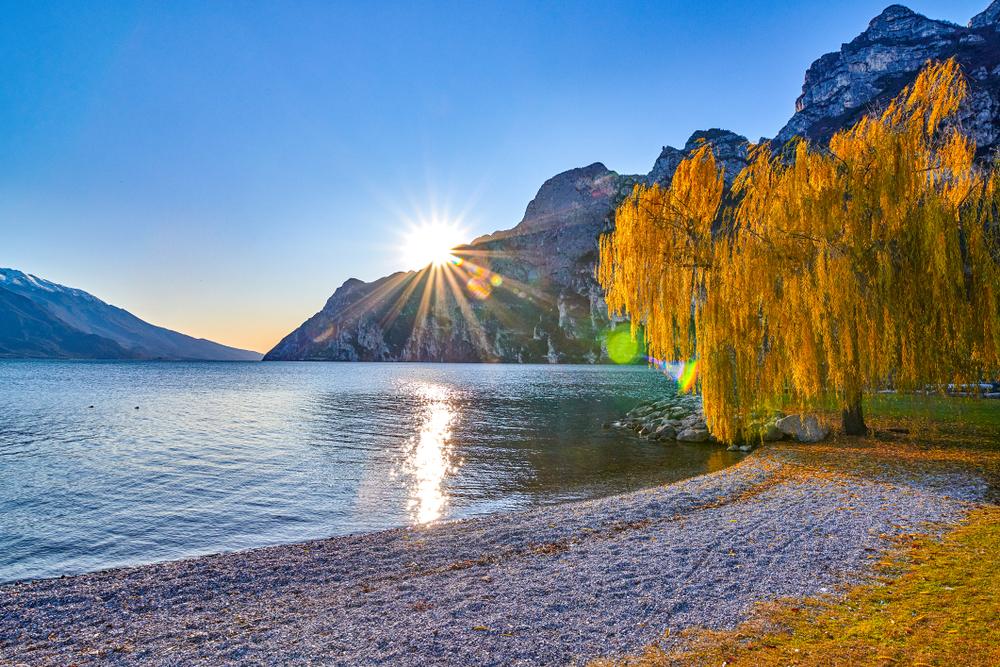 autunno lago garda
