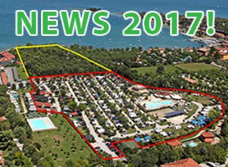 Riqualificazione della nuova area del nostro camping natural green lago di Garda